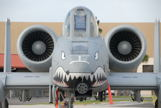 Front view of an A10 Warthog
