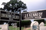 Street Signs In Arlington Cemetary