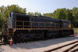 Big locomotive with Army on it