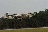 B-25 painted in Camo colors