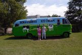 Ben and Jerry's Bus with my children