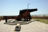 Big Cannon at Ft Pickens in Pensacola, FL