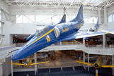 Old Blue Angels hanging in Museum