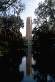 Bok Tower reflection on the water