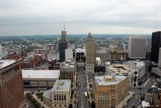 A view of downtown Buffalo from the 28th floor of the Buffalo City Building