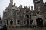 Fromt view of the outside of Casa Loma