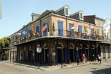 Corner building in the French Quarter