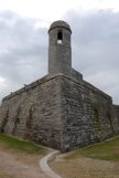 A view of the coner tower at St Augustine Ft