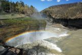 Letchworth State park's middle falls