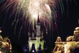 Castle with Fireworks