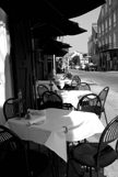 Table and Chairs from a Restaurant in the French Quarter