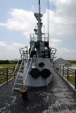 On top of the USS Drumm